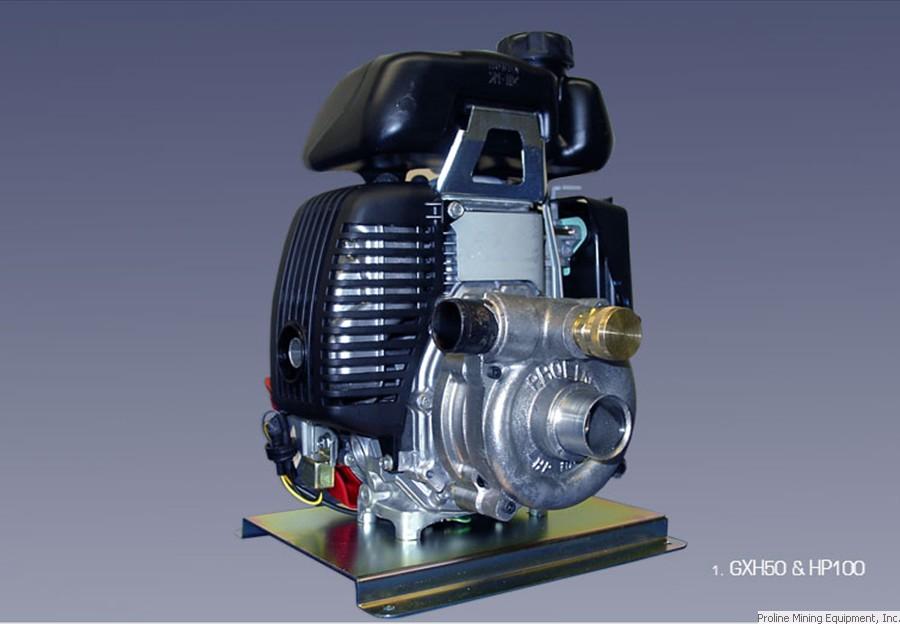 Proline HP100/Honda GX50   A&B Prospecting